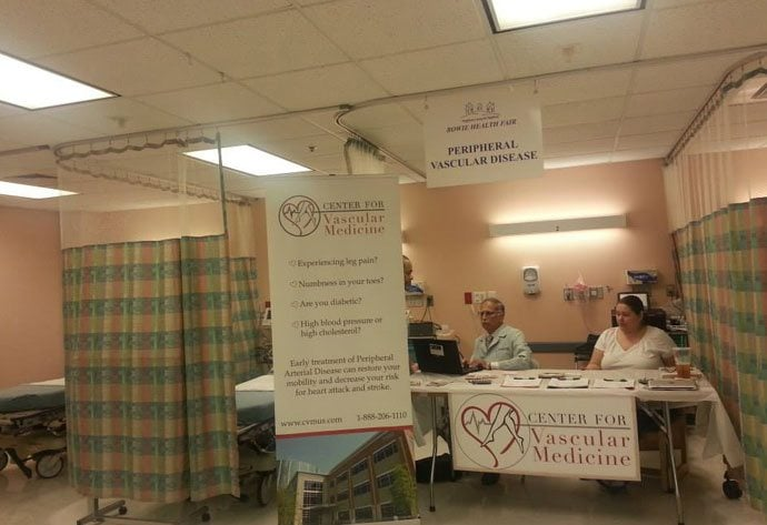 Center For Vascular Medicine at the Bowie MD Health Fair
